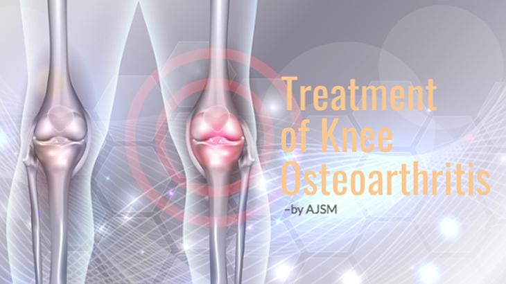 再生医療の治療で変形性膝関節症が良くなるイメージを表現