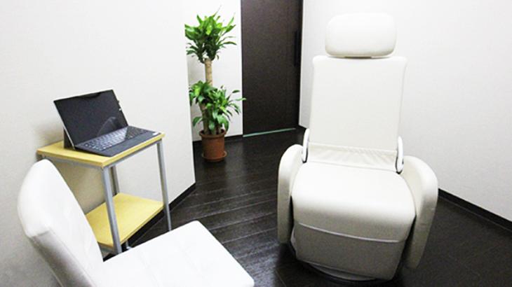 東京ひざ関節症クリニック銀座院の診察室